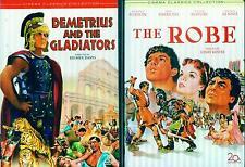 ROBE 1 & 2, THE: Demetrius & Gladiator-Richarrd Burton+Victoe Mature- NEW 2 DVD