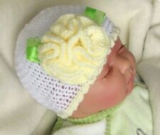 CROCHET PATTERN / INSTRUCTION LEAFLET: CUTE BABY HAT, multisize - Ref.12C