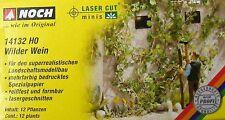 """NOCH 14132 H0  Laser-Cut minis """"Wilder Wein"""", 12 Pflanzen, Neu"""