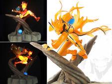 Naruto Shippuden Uzumaki Naruto Rikudou Sennin Mode LED Ver. Figure 23cm  NoBox