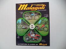 advertising Pubblicità 1974 MALAGUTI CAVALCONE 50/QUATTROTTO/FIFTY 50/MOTORIK