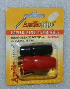Audiopipe PTRS-0 Power Ring Terminal 2 Pack ( Pair of 1 positive and 1 negative)