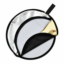 5in1 Godox 60cm Round Shape Studio Photo Disc Collapsible Camera Flash Reflector