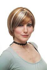 Streaked Wig Bob Dark blonde Light blonde/Platinum Strands 11 13/16in 1244-F27/