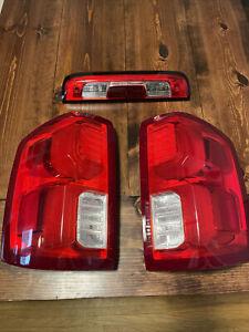 2017 silverado 1500 ltz factory led taillights oem