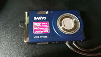 Sanyo 720p HD Camera Blue