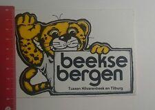 Aufkleber/Sticker: beekse Bergen Tilburg Hilvarenbeek en Tilburg (291216128)