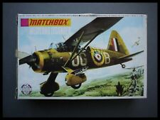 Rare MATCHBOX Westland Lysander 1:72 Model Kit