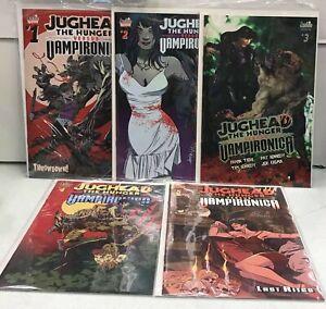 Jughead Hunter vs Vampironica Lot of 5 Comics NM Nice Set of Comics