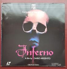 Inferno - PAL LaserDisc - PRE-CERT - Dario Argento - Video Nasty - Uncut