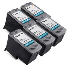 5 Pack Canon PG-40 CL-41 Ink Cartridge for PIXMA MP460 MP470 MX300 MX310 Printer