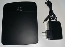 Cisco Linksys E1200 V2 Wireless Wi-Fi Router With 4 Port Switch