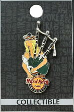 Hard Rock Cafe EDINBURGH 2012 Sexy BAGPIPES Girl PIN New on Card! - HRC #66493