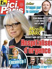 ICI PARIS N° 3717--LEA SALAME ENCEINTE/ARTHUR CANCER/MIREILLE DARC HOSPITALISEE