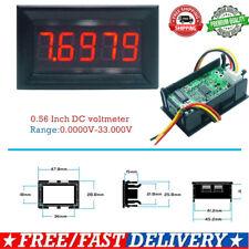 Mini Digital 036in Led 5 Bits Dc 0 33000v Voltmeter Panel Volt Voltage Meter
