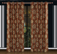 Damask Curtains / Partial Black-out Luxury Drapes by Dolce Mela DMC464