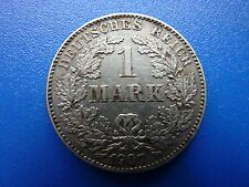1907G Germany Silver 1 Mark Nice Grade