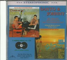 SANTO & JOHNNY - Come On In - Off Shore - CD - BRAND NEW