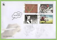 Norway 2011 Centenary of First Norwegian Comic Strip set First Day Cover