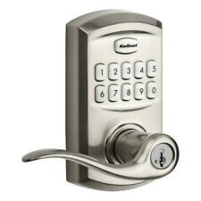 Kwikset SmartCode 917 Entry Traditional Residential Electronic Lever - 99170-001