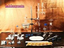 laborglas destillierspinne anschütz-thiele exsikator wasch-woulffscheflasche ***