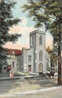 Tarrytown-on-Hudson New York~Christ Episcopal Church~Ladies~Horse Buggy~c1910