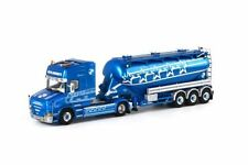 Voitures, camions et fourgons miniatures blancs pour Scania