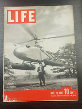 LIFE Magazine: June 21st 1943, Sikorsky's Helicopter