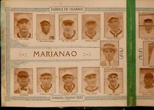 1923-24 Tomas Gutierrez album Marianao Cristobal Torriente negro league sheet
