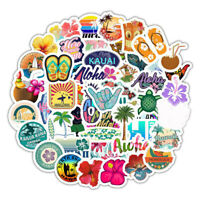 50Pcs English Letters Cartoon Quotes Stickers Laptop Skateboard Luggage DecaP1