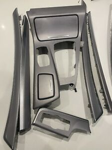 BMW 5 SERIES F10 F11 LCI INTERIOR SILVER ALUMINIUM DASHBOARD & DOOR TRIMS