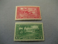 US Stamp Scott #617 And #618 MNH OG