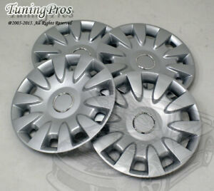 "4pcs T2 Style Wheel Cover Rim Skin Covers 15"" Inch, Style 068 15 Inches Hubcap"