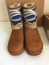 Ugg Classic Short Pendleton Boots Limited Edition Size Women 7 New In Box