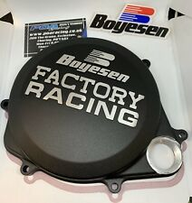 New Boyesen Clutch Cover Honda CRF 450R 2017-2021 - Black