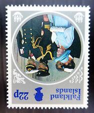 FALKLAND ISLANDS 1985 Q.Mother 22p INVERTED/WMK Error Variety SG506w U/M FP5539