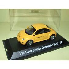 VW NEW BEETLE DEUTSCHE POST Poste Allemande SCHUCO 1:43