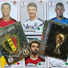 PANINI WORLD CUP 2018 LOOSE STICKERS - Choose from HUGE LIST! Pick your numbers