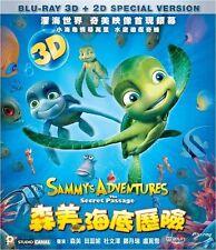 """Ben Stassen """"Sammy's Adventures - The Secret Passage"""" 3D + 2D  Region A Blu-Ray"""