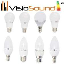 E14 E27 B22 LED Light Bulb - Warm/Cool/Daylight White - Bayonet and Edison Screw