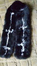 Echarpe en fourrure de lapin véritable b37647c36da