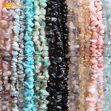 Natural Stone 5-8mm Freeform Chips Beads For Jewelry Making Gravel Free Shipping