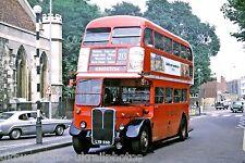 London Transport RT3331 LYR550 6x4 Bus Photo Ref L227