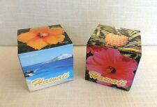 Hawaii Flip Cube Block Souvenirs 2 Different Photo Puzzle Blocks Party Favors