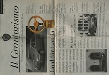 Lancia Lybra Prospekt Presse 1999 car brochure Auto PKWs Italien Autoprospekt