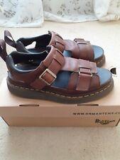 Dr Martens Hayden Brown Leather Sandals (Size 7)