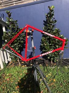 F. Moser Italian Steel Frame Bicycle Dura Ace Headset