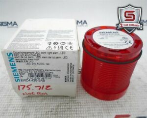 Siemens 8WD4420-5AB Continuous Red Stack Light