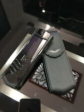 Vertu Signature S Design - Ultimate Black (Unlocked) Cellular Phone