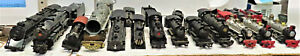 BACHMANN AND OTHERS STEAM LOCOMOTIVE HO SCALE (SHELLS & PART ONLY) 14 LOT